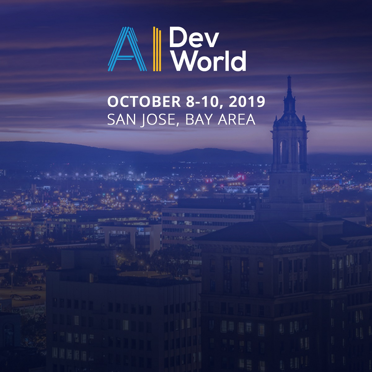 AI DevWorld 2019 at San Jose Convention Center in San