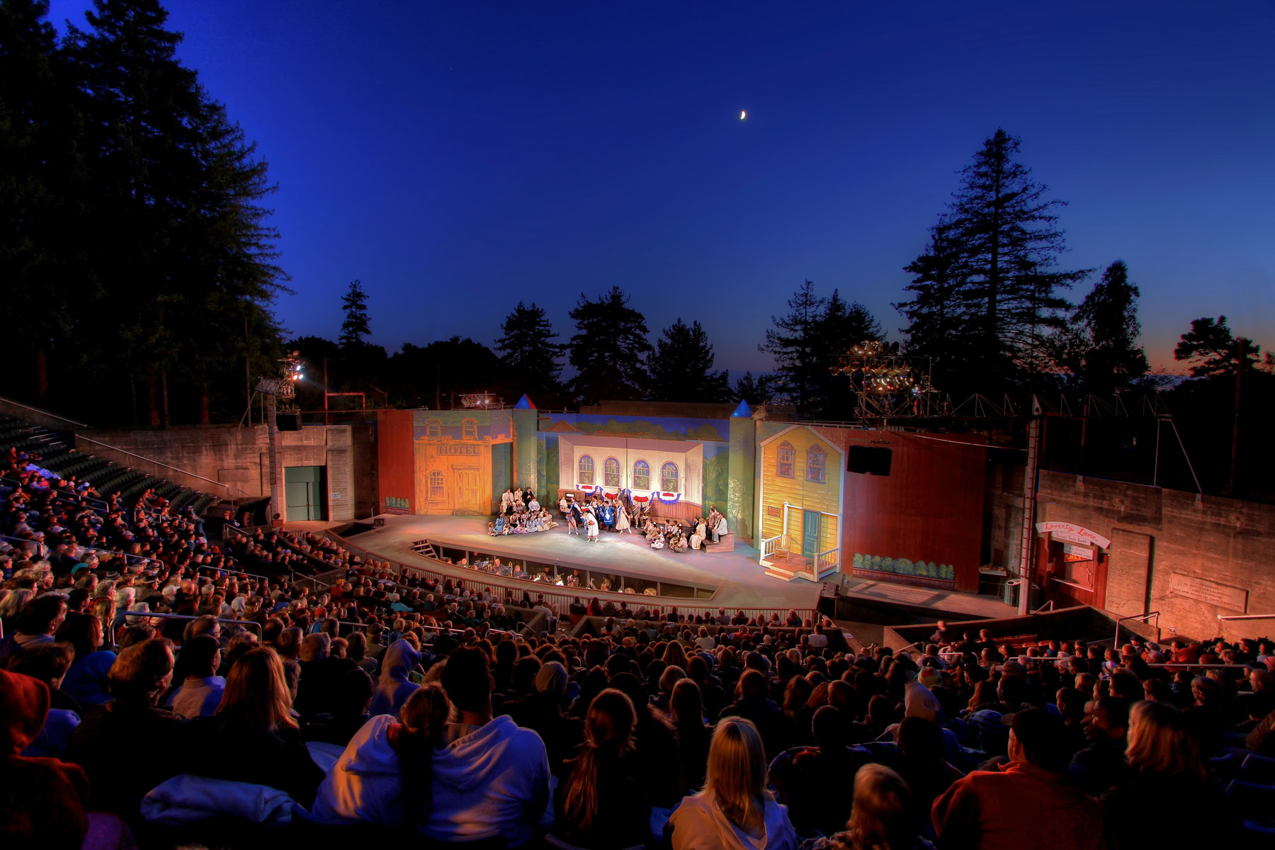 Mary Poppins At Woodminster Amphitheater In San Francisco