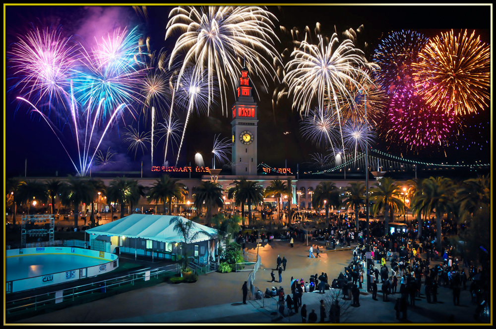 New Year's Eve 2017 Fireworks Gala on the Embarcadero ...