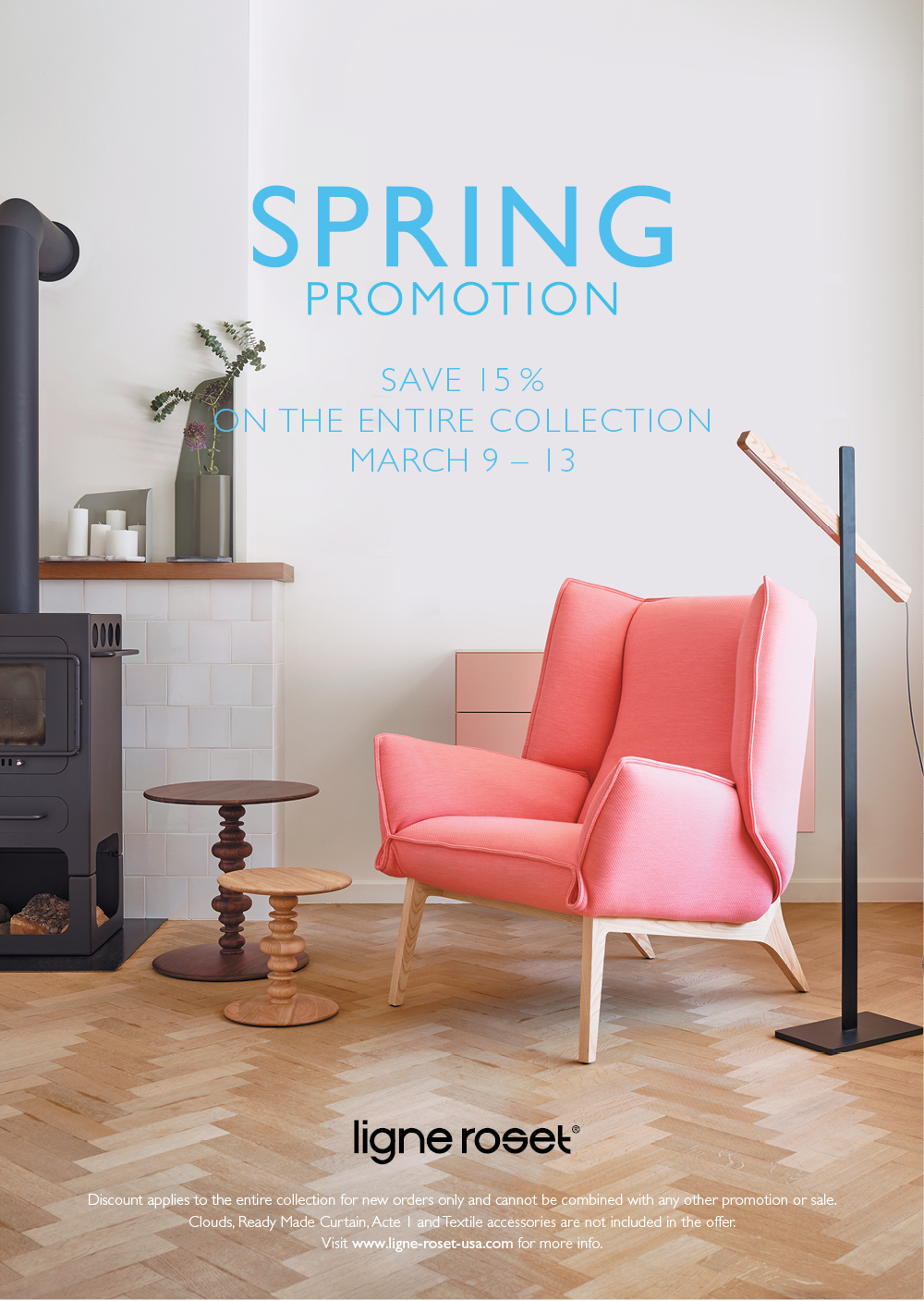 ligne roset spring sale at ligne roset san francisco in san francisco tickets march 13 2016. Black Bedroom Furniture Sets. Home Design Ideas