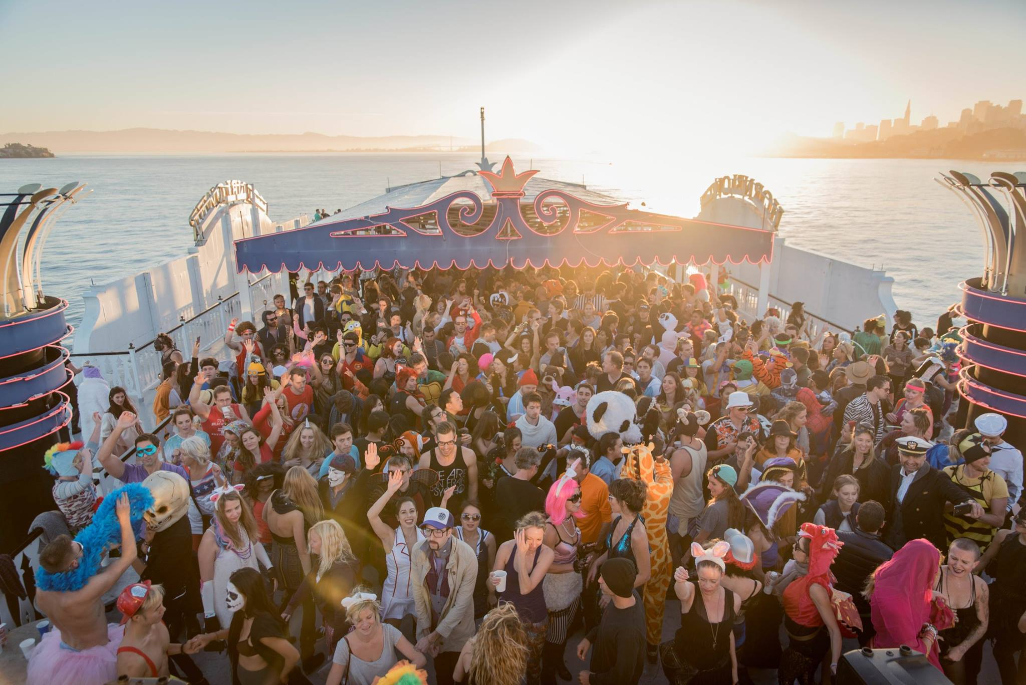Sf Party Cruise Unique Birthday Ideas And Themes