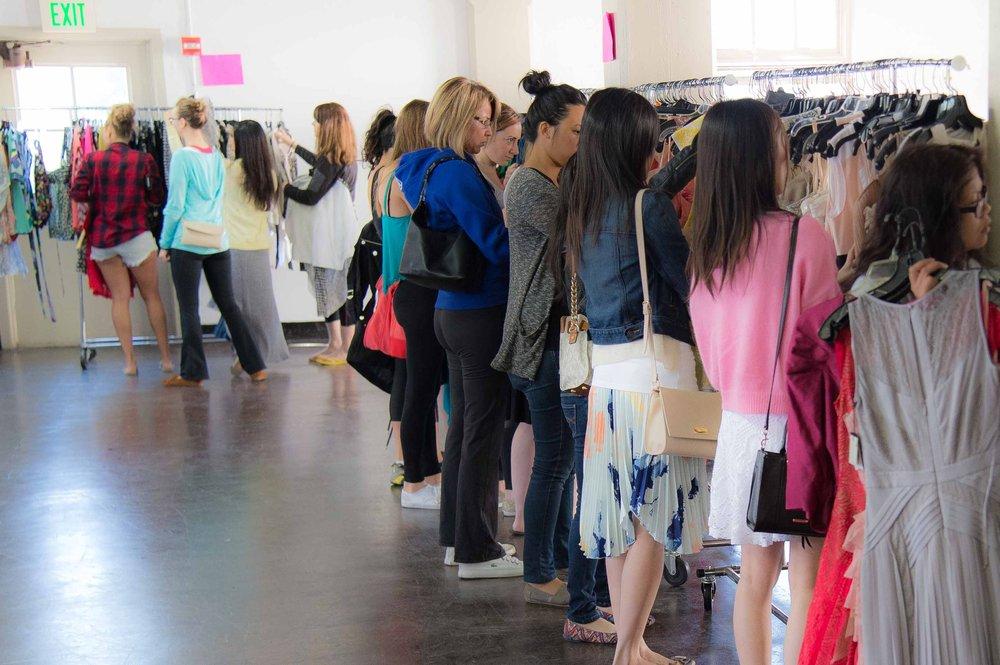 8288006c6105 BCBG Warehouse Sale Extravaganza at Fort Mason Center in San ...