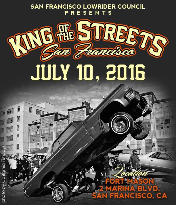 San Francisco Lowrider Council King Of The Street At Fort Mason - Lowrider car show san francisco 2018