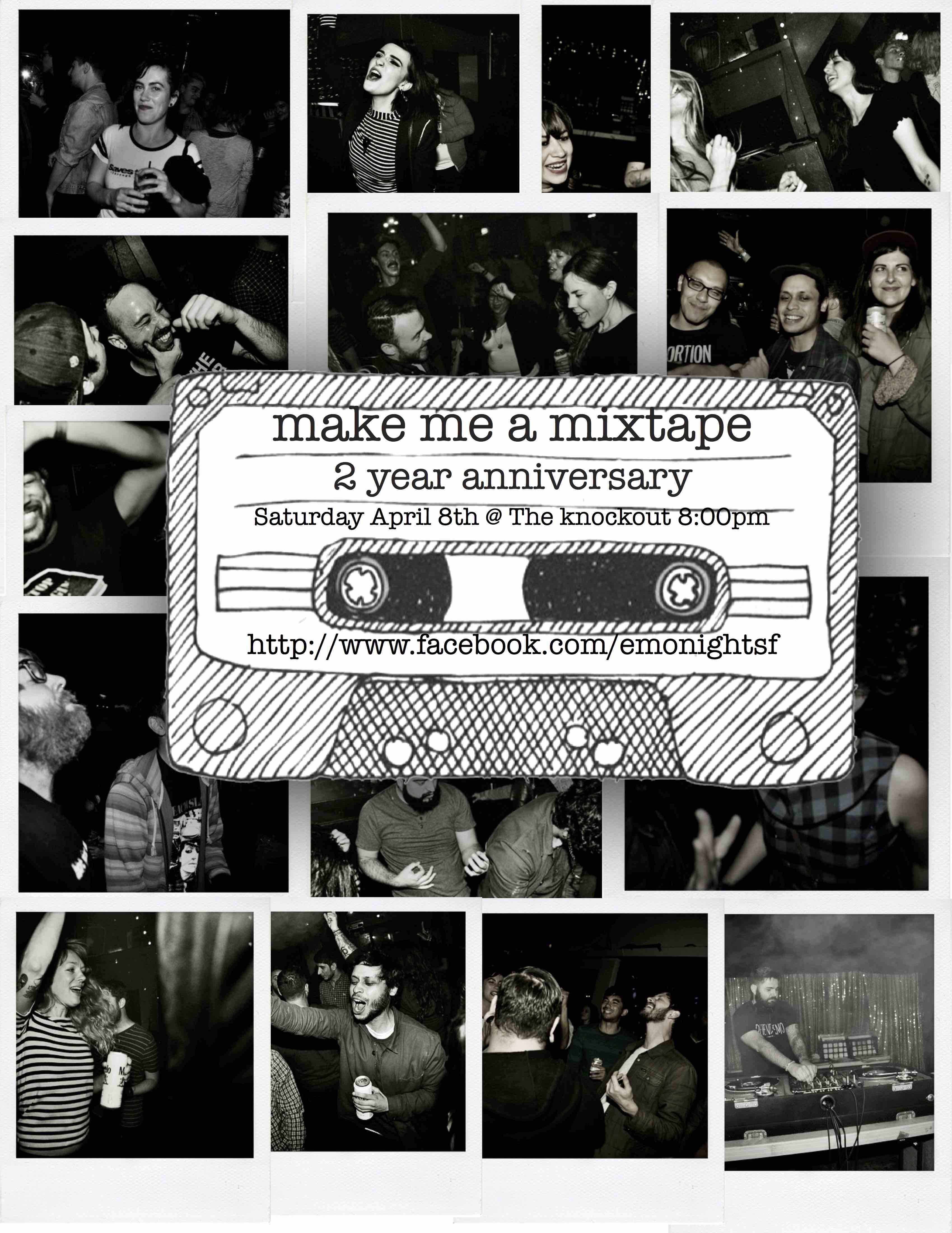 Emonight SF - 2nd year anniversary Make me a mixtape at The