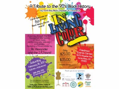 In Living Color-A Tribute to the 90\'s Black History at Friedman ...