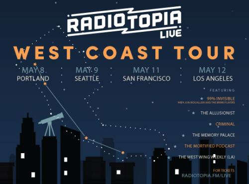 Radiotopia Tour Sf