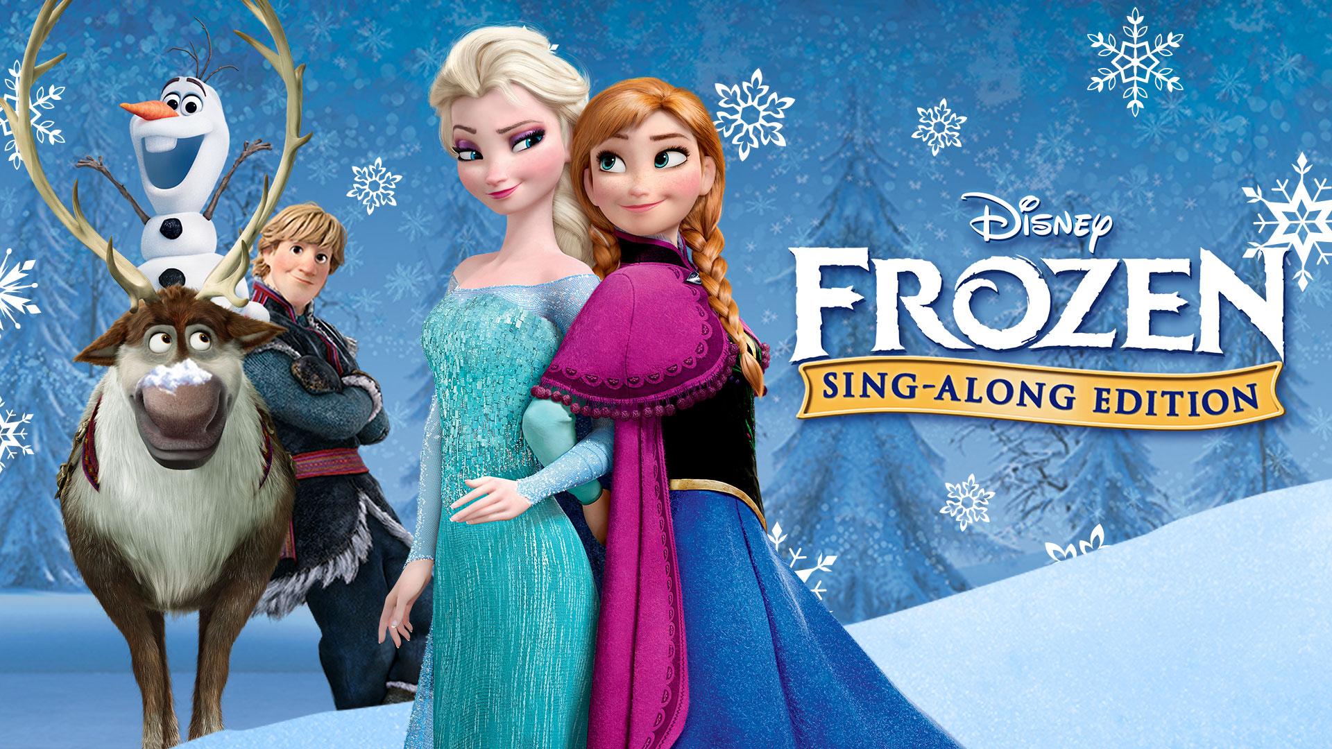 disneys frozen sing a long original
