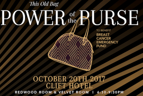 Power of the purse this old bag at the redwood room clift hotel in san francisco tickets for Redwood room live music schedule