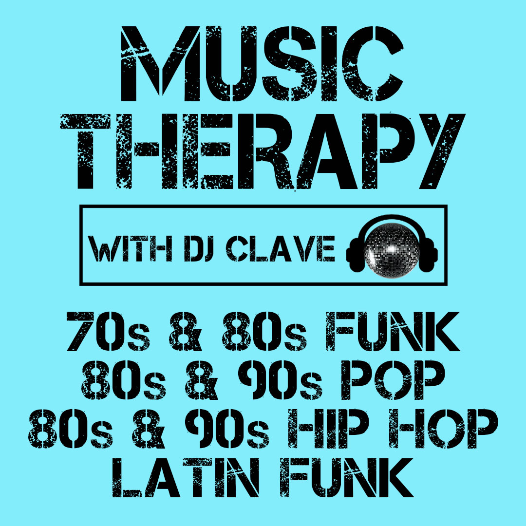 Music Therapy: Free 80s & Latin Funk Party at Pop's Bar in