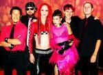 Caption: Smash-Up Derby, from left: Matty C., Jamie Cronander, Adrian Roberts, Trixxie Carr, Sam Henry, Jason Martinez