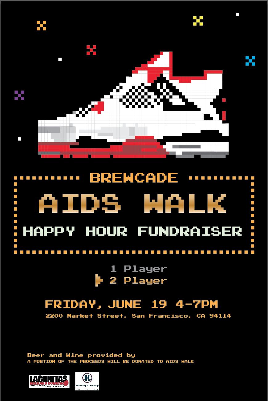 Brewcade AIDS Walk Happy Ho...