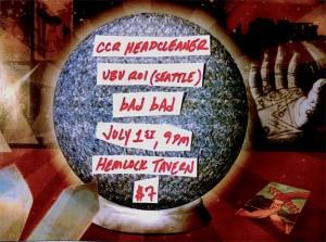 CCR Headcleaner, bAd bAd, U...