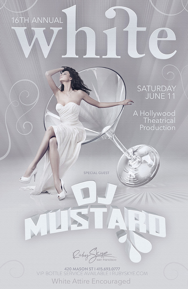 White Party with DJ Mustard
