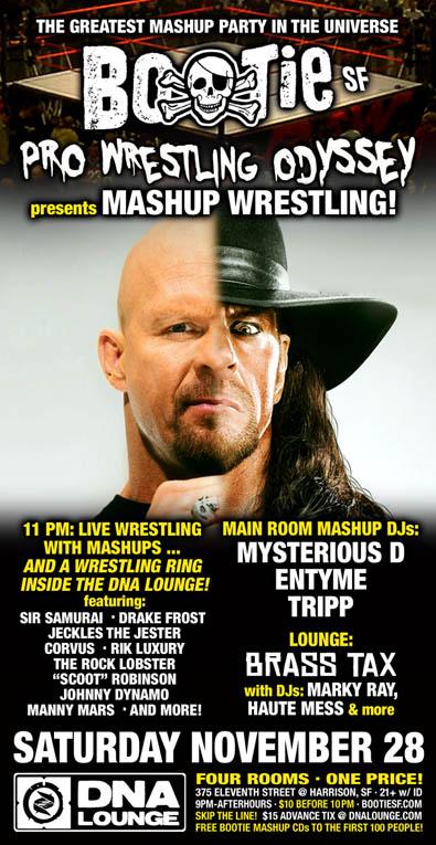 BOOTIE SF: Pro Wrestling Od...