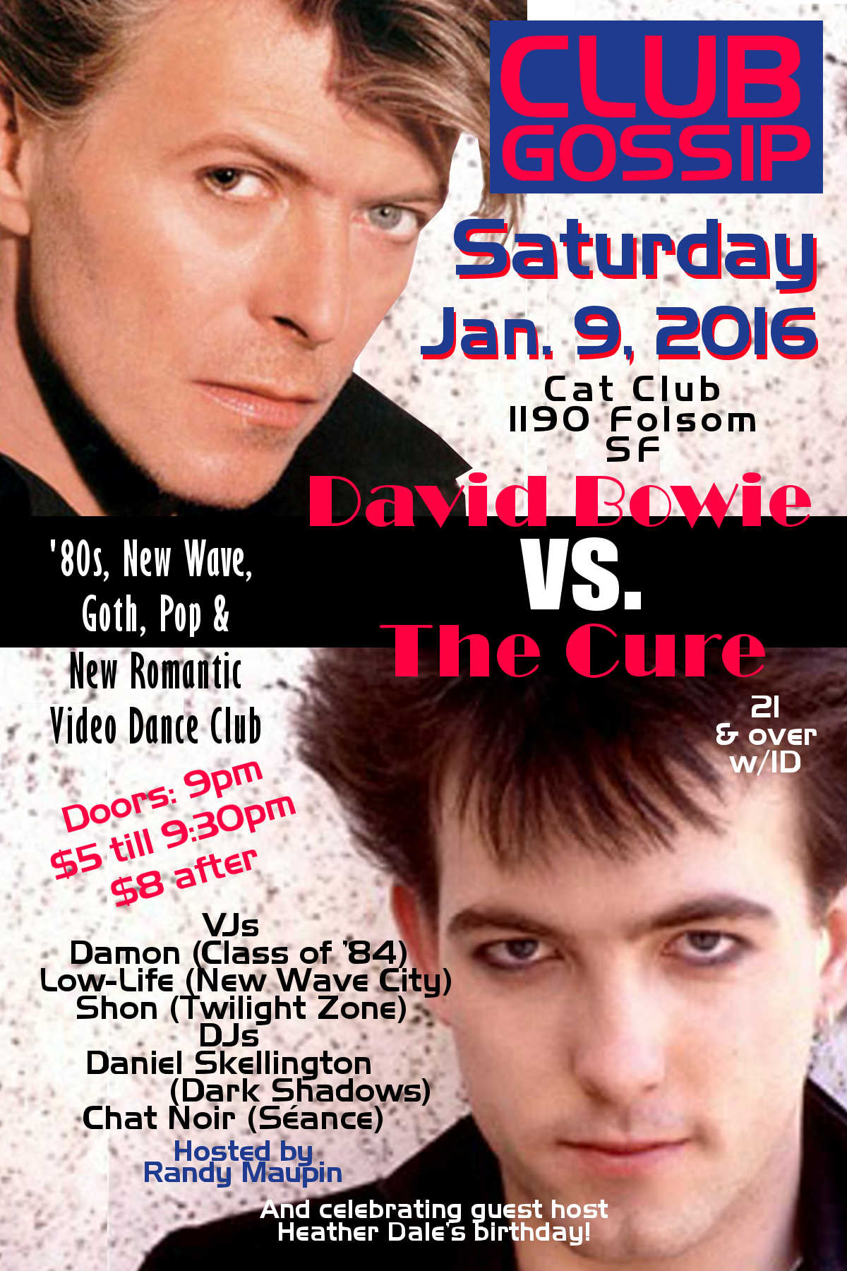 The Cure vs David Bowie