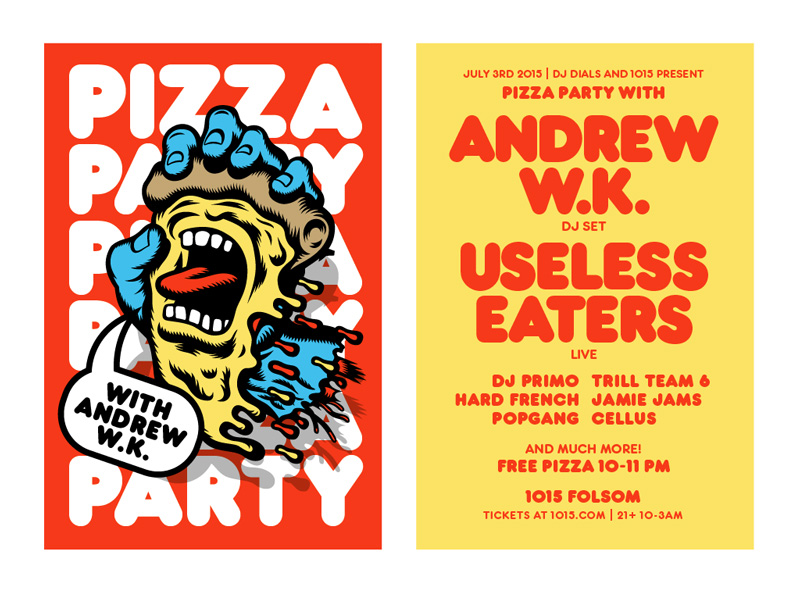 Andrew WK Pizza Party