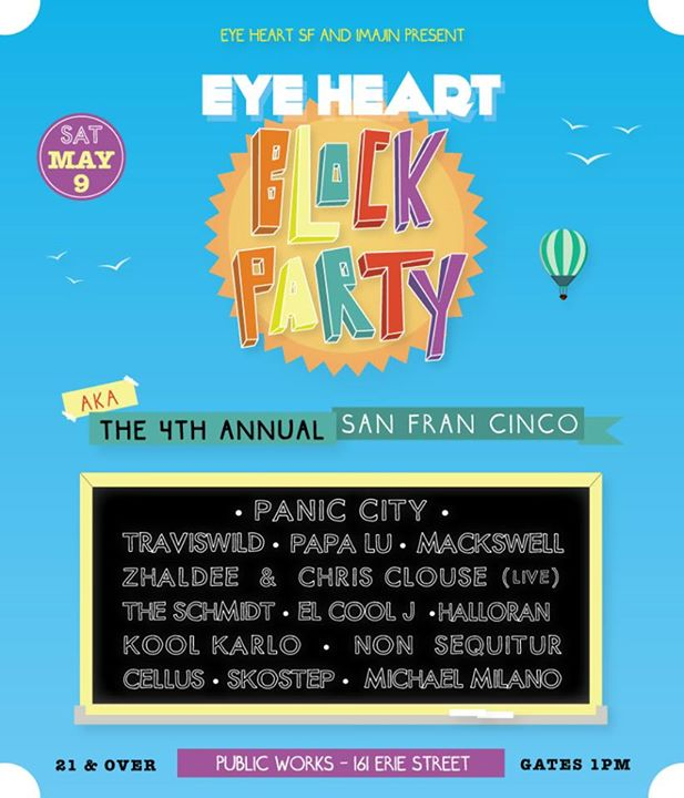 EYE HEART BLOCK PARTY