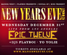 Manor West New Years Eve