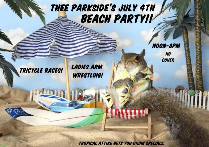 PARKSIDE POOL PARTY! DJS, L...