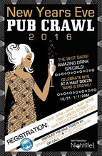 PubCrawl San Francisco New Years 2017