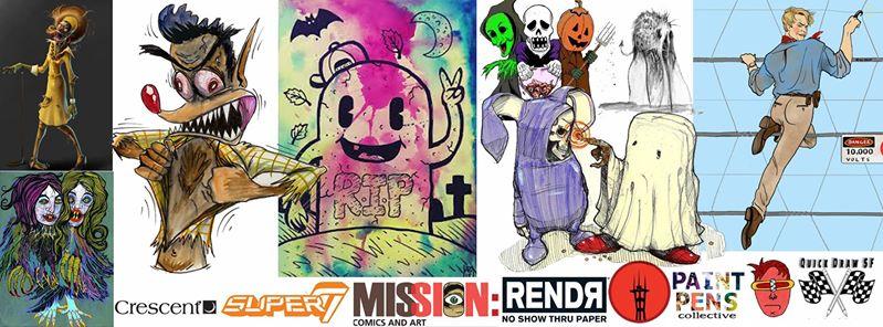 Quick Draw SF #018 : Spooky...