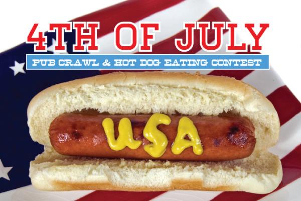 4th of July Pub Crawl