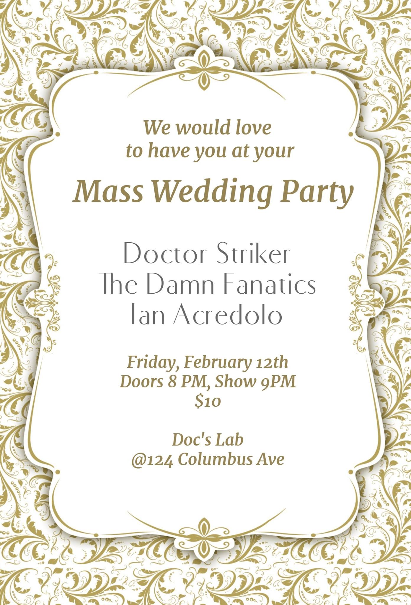 Mass Wedding Party : Doctor...