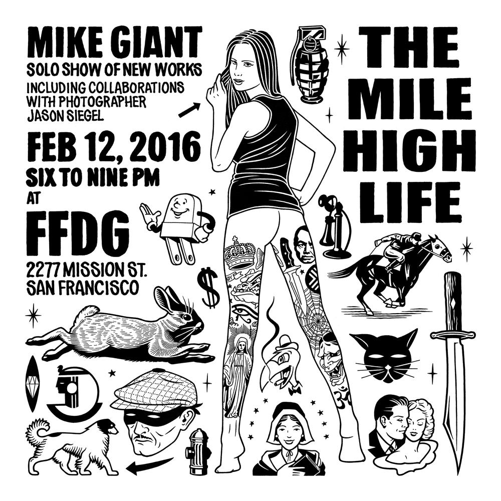 Mike Giant: THE MILE HIGH L...