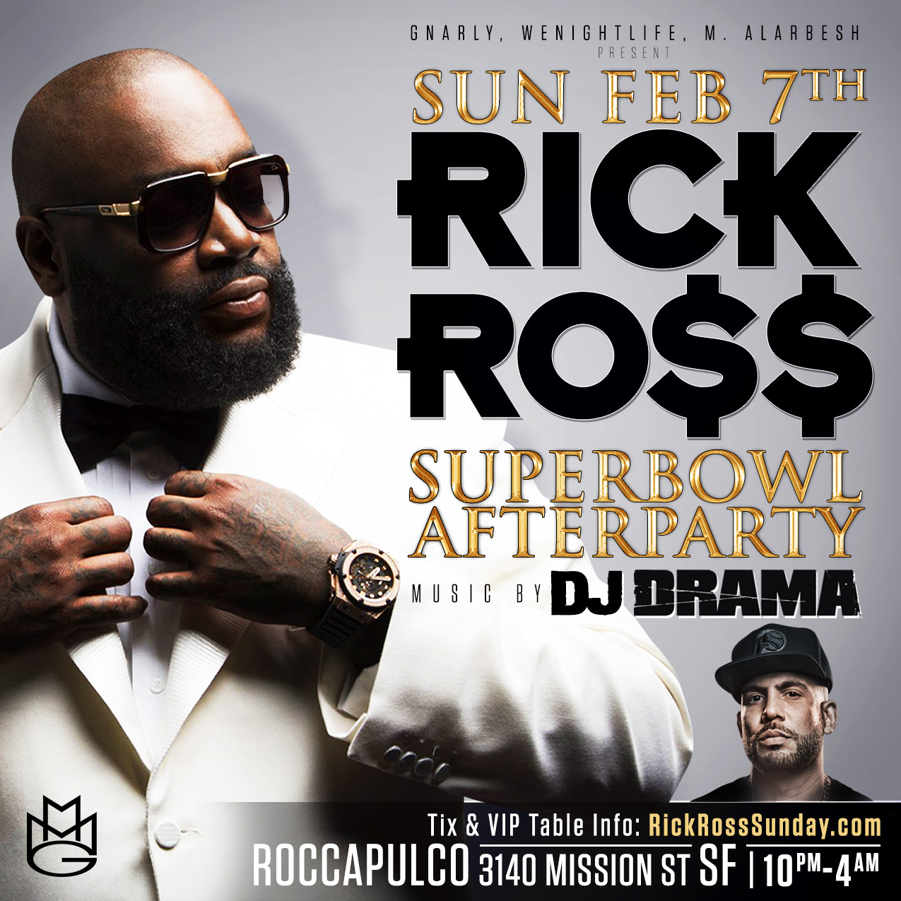 Rick Ross Superbowl Afterpa...