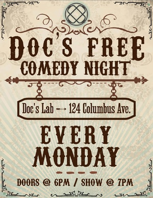 Doc's Free Comedy Night Hos...