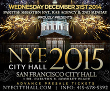 City Hall New Years Eve Party