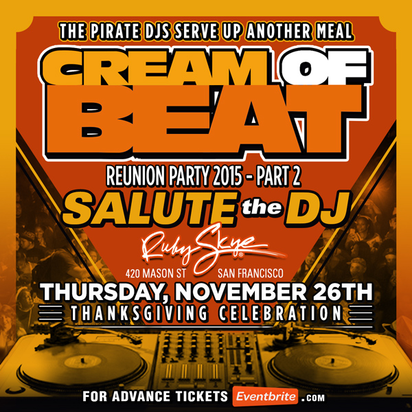 CREAM OF BEAT Thanksgiving ...