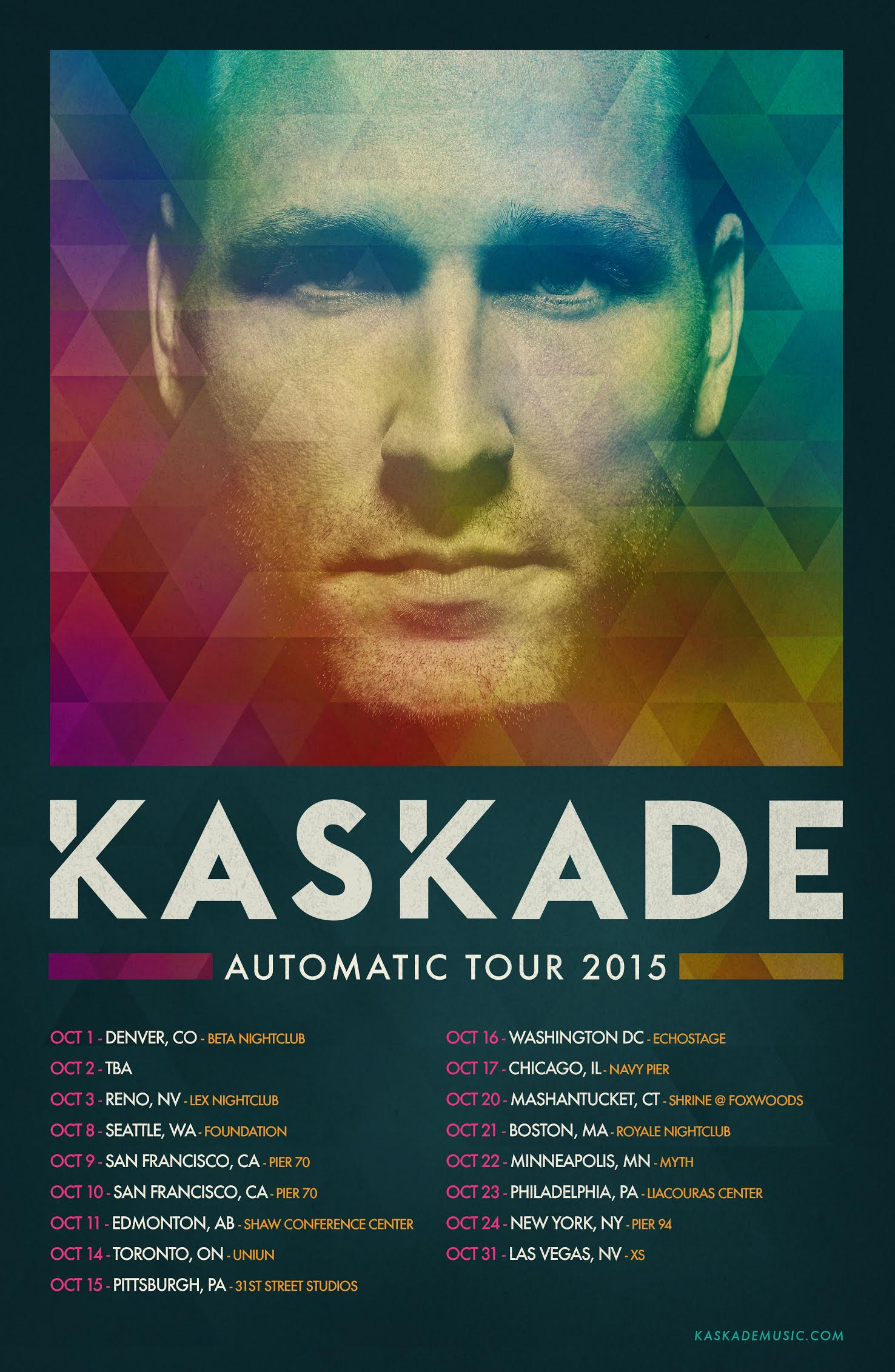 Kaskade - Automatic Tour
