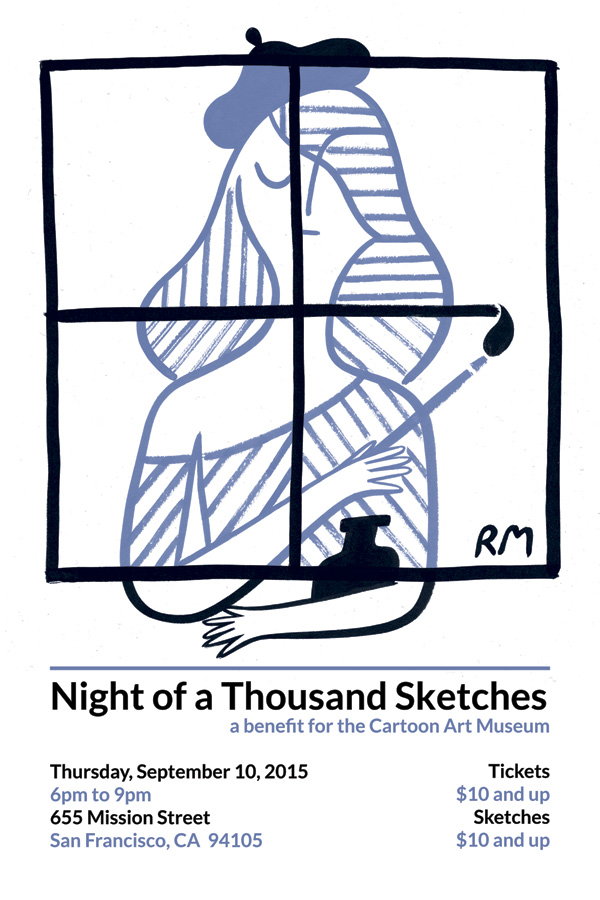 Night of A Thousand Sketche...