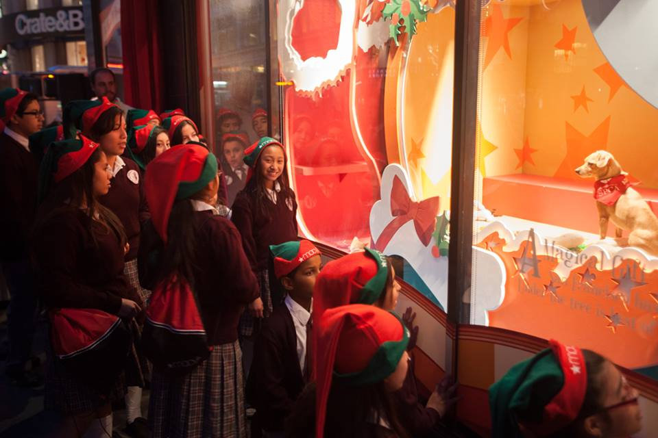 SF SPCA Holiday Windows Fea...