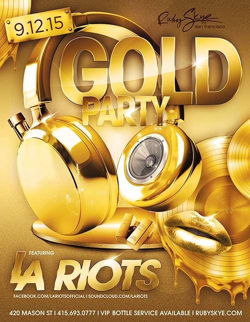 GOLD: LA Riots