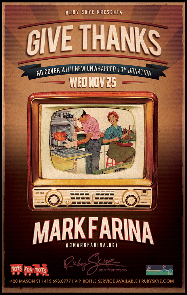 Give Thanks: Mark Farina