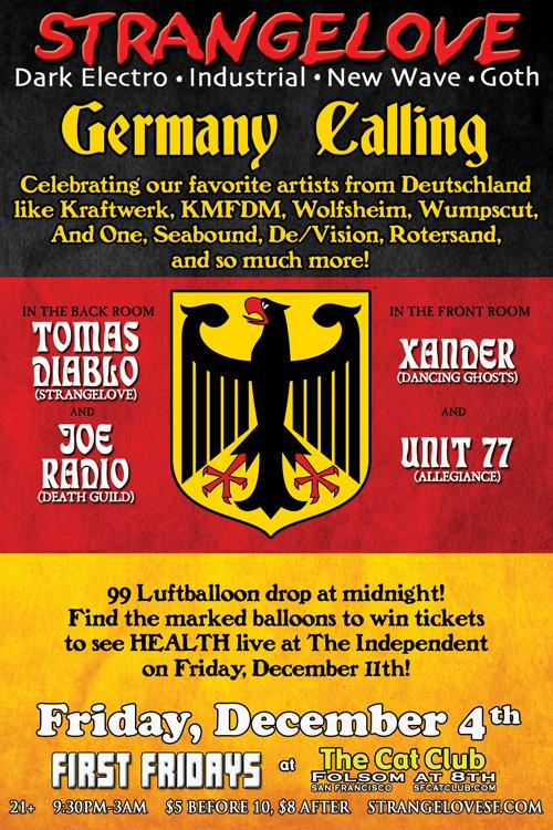 Strangelove: Germany Callin...