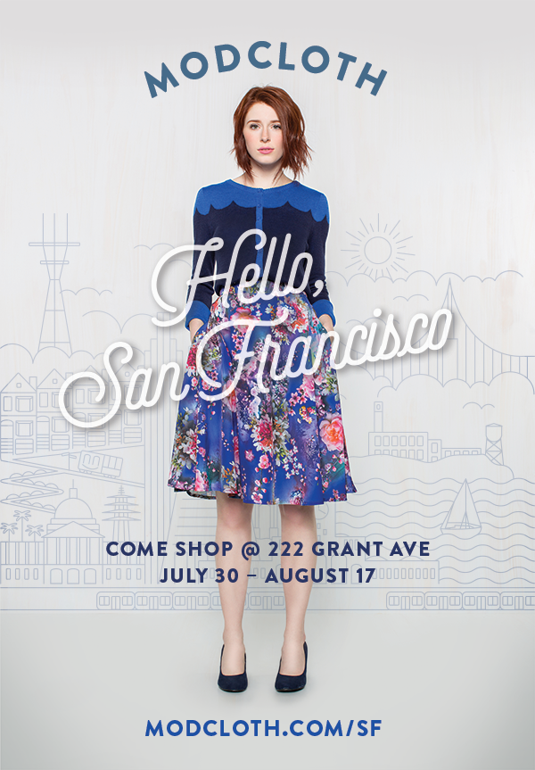 ModCloth's Pop Up Fit Shop