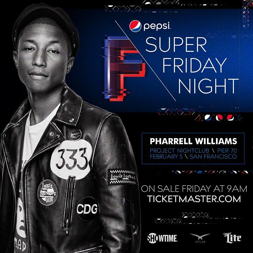 Super Friday Night: Pharrel...