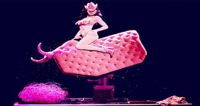 Dita Von Teese Brings Strip Strip Hooray to The Fillmore