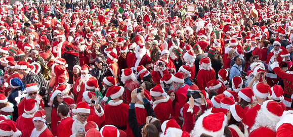 Win a Santa Suit for SantaCon this Weekend!