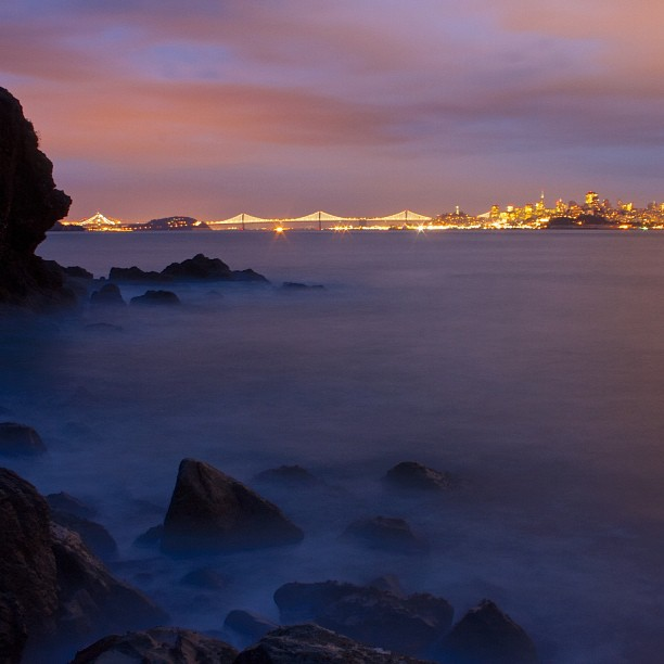 The Best of the Bay Lights on Instagram
