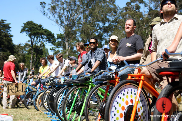 Photos: San Francisco Bicycle Music Festival