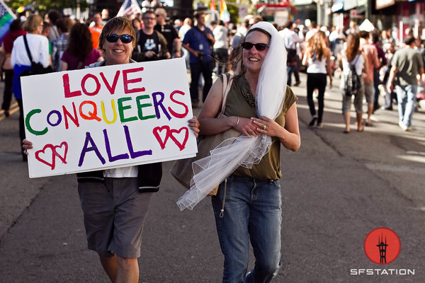 Photos: Castro Street Party for Prop. 8 Defeat