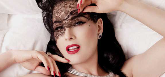 Dita Von Teese Returns With 'Burlesque: Strip Strip Hooray'