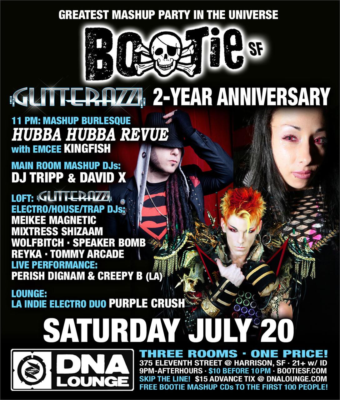DJ Meikee Magnetic Celebrates Glitterazzi at Bootie
