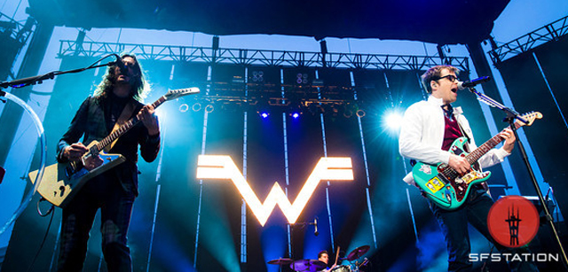 Photos: Weezer and The Limousines at America's Cup Pavilion