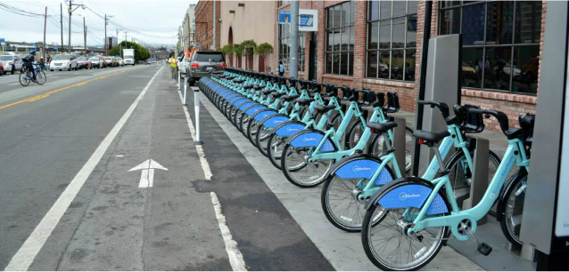 Bay Area Launches Bike Share Program