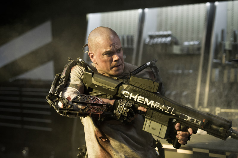 Movie Review: Matt Damon Battles Dystopia In 'Elysium'